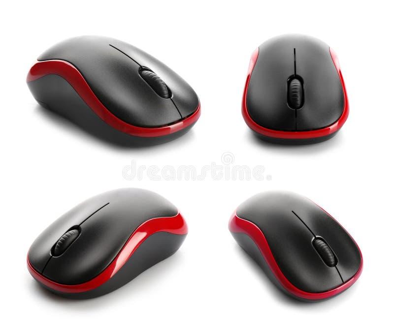 Ajuste dos ratos modernos do computador imagem de stock