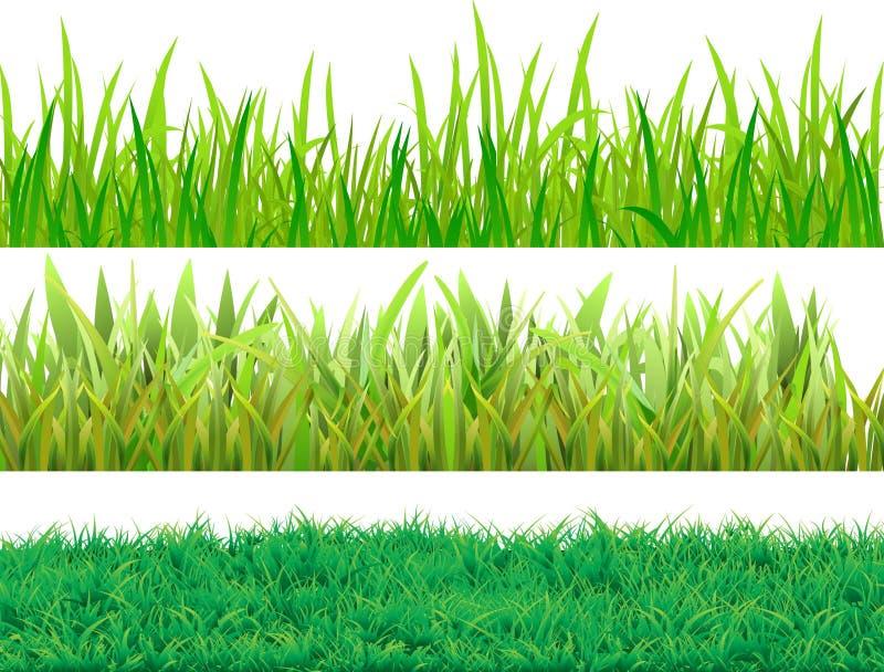Ajuste a grama ilustração stock