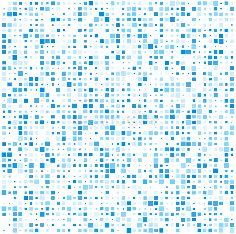 Ajuste le modèle bleu de technologie illustration de vecteur