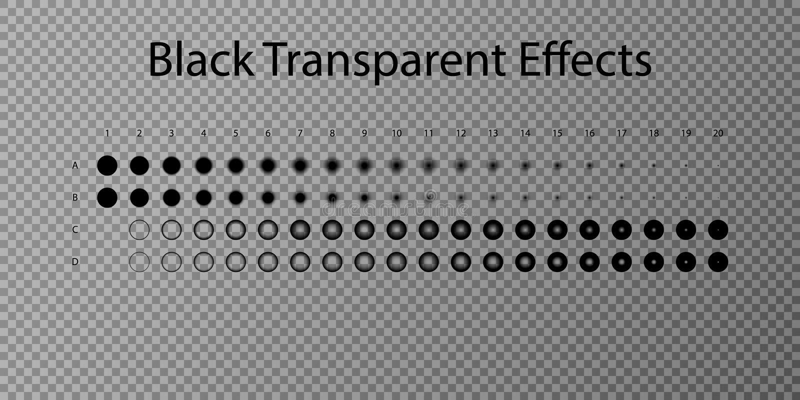 Ajuste o efeito do vetor da ilustração Efeitos da luz e sparkles transparentes Ajuste o efeito do vetor Efeito do inclinação Somb ilustração stock