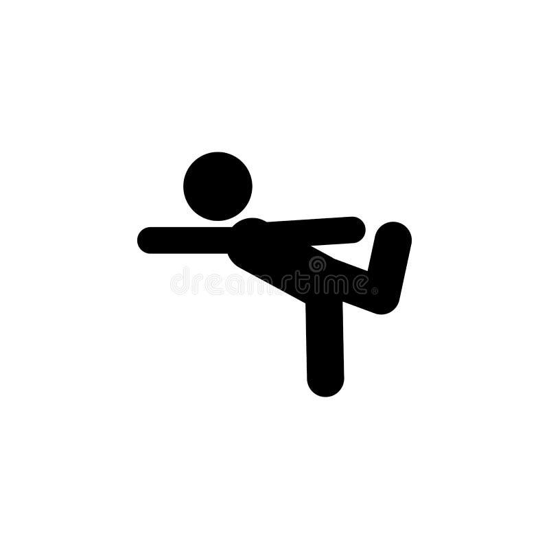 ajustement, icône d'enfant Élément d'icône d'enfant pour des applis mobiles de concept et de Web L'ajustement de Glyph, icône d'e illustration libre de droits