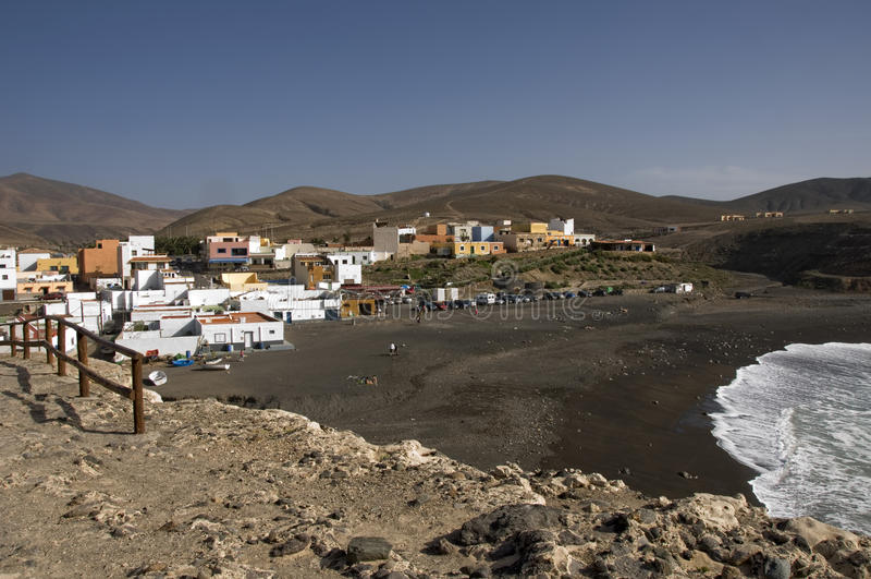 Ajuy, Fuerteventura royalty free stock photography
