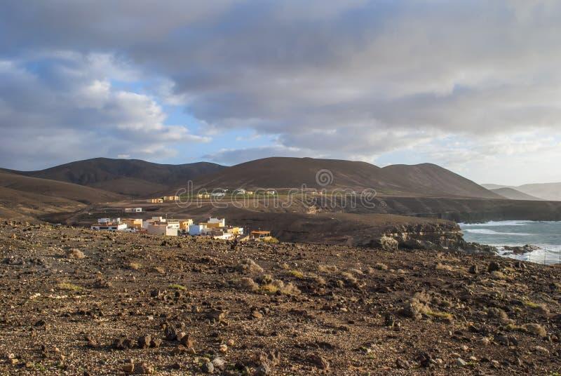 Ajuy, Fuerteventura fotografia de stock