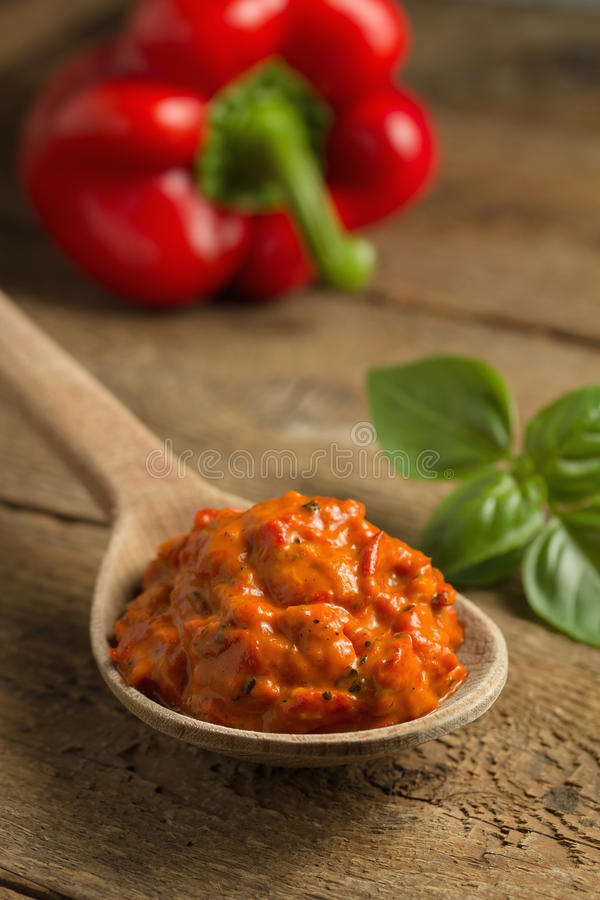 Ajvar royalty free stock images