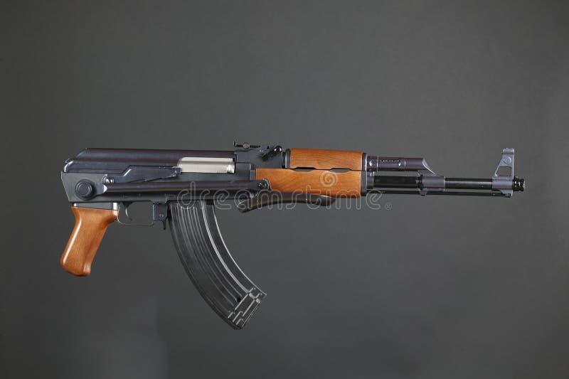 AK-47步枪 免版税库存照片