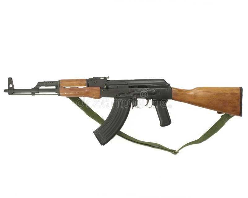 AK-47 royalty free stock photos