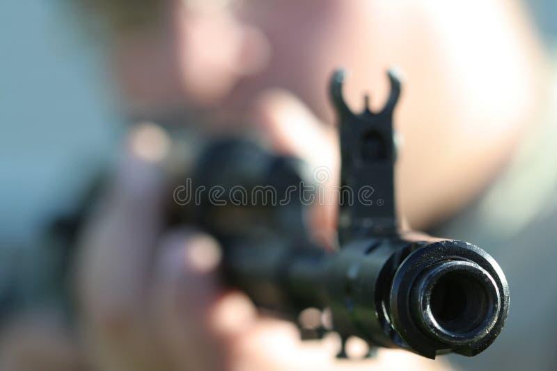 Ak-47 2 stock afbeelding