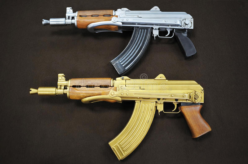Download AK-47 stock photo. Image of silver, fighting, military - 21239380