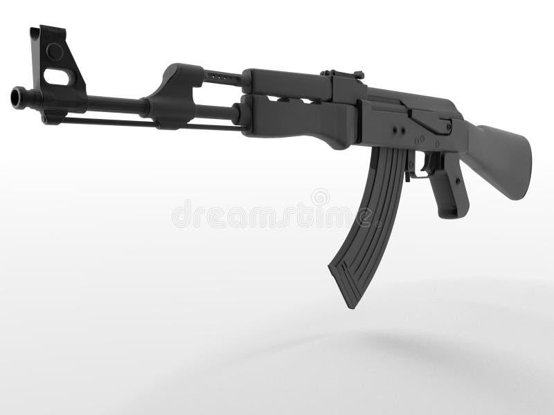 AK-47 assault rifle stock illustration