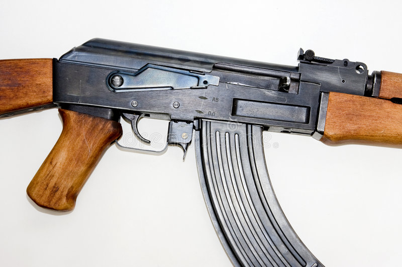 AK-47 assault rifle royalty free stock images