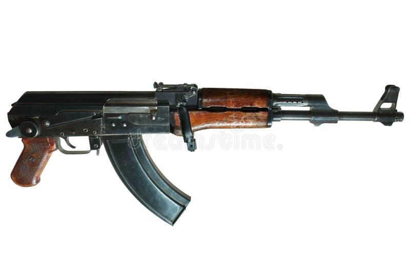 Ak-47 machine gun royalty free stock photo