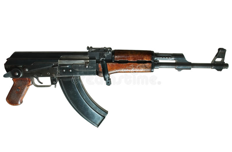 Ak-47Maschinengewehr lizenzfreies stockfoto