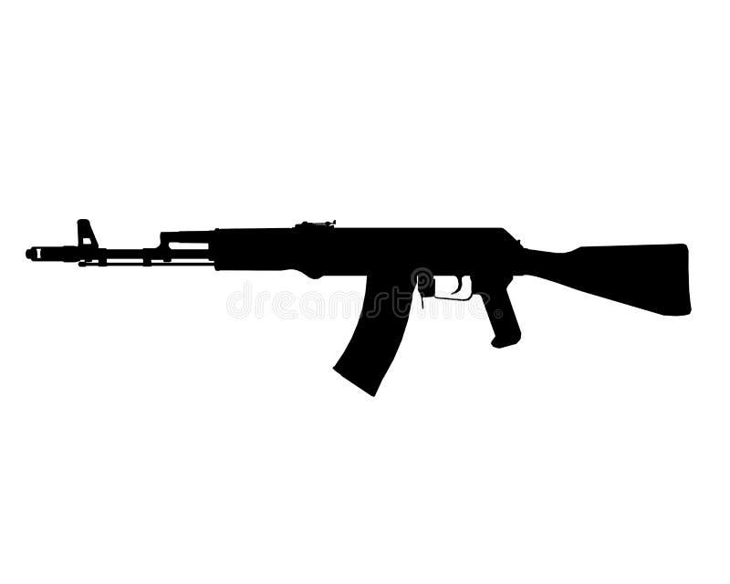 AK-74M ikona fotografia royalty free