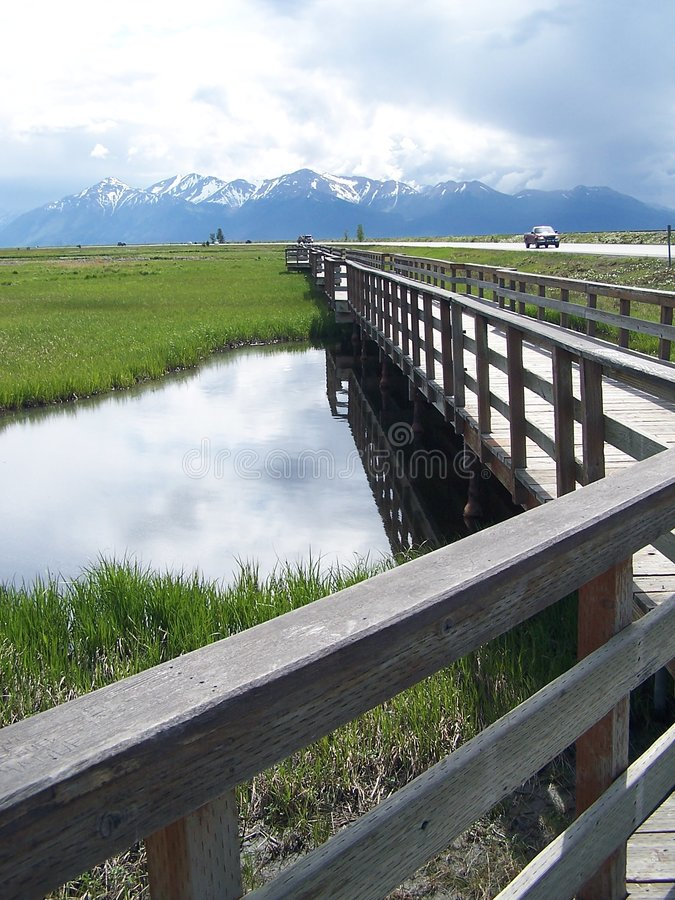 AK Park. One of Alaska's Beautiful Refuges stock photo