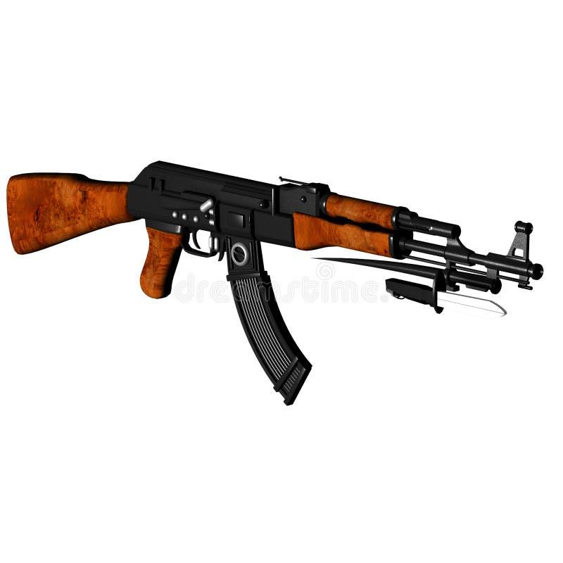 Download AK47 - Kalashnikov stock illustration. Image of killing - 11907884
