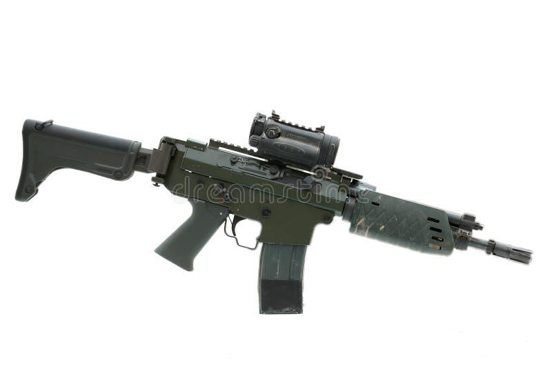 AK5C aanvalsgeweer door Fabrique Nationale Carabine royalty-vrije stock fotografie