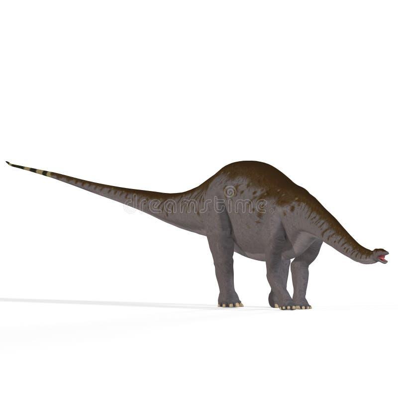Aka Brontosaurus van Apatosaurus vector illustratie
