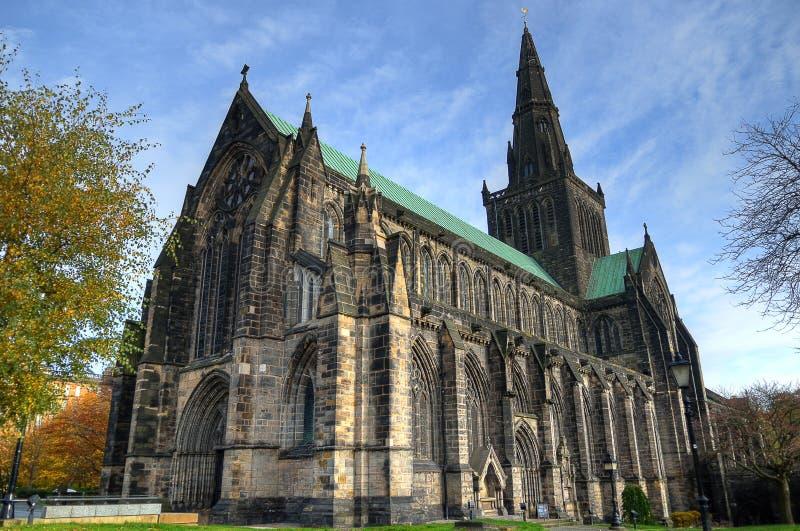 Aka Kirk elevado da catedral de Glasgow do Mungo de Glasgow ou de St Kentigern ou de St fotos de stock
