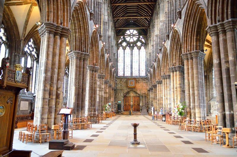 Aka Kirk elevado da catedral de Glasgow do Mungo de Glasgow ou de St Kentigern ou de St imagens de stock royalty free