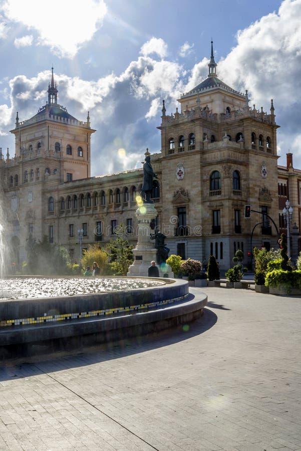 Akademia kawaleria Valladolid fotografia stock