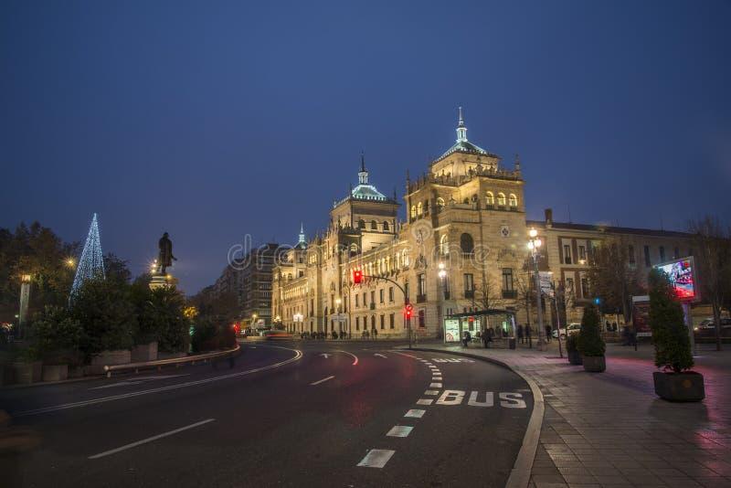 Akademia kawaleria, Valladolid zdjęcie stock