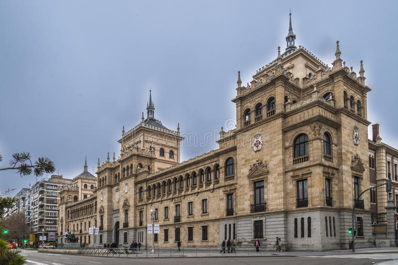 Akademia kawaleria, Valladolid obraz stock