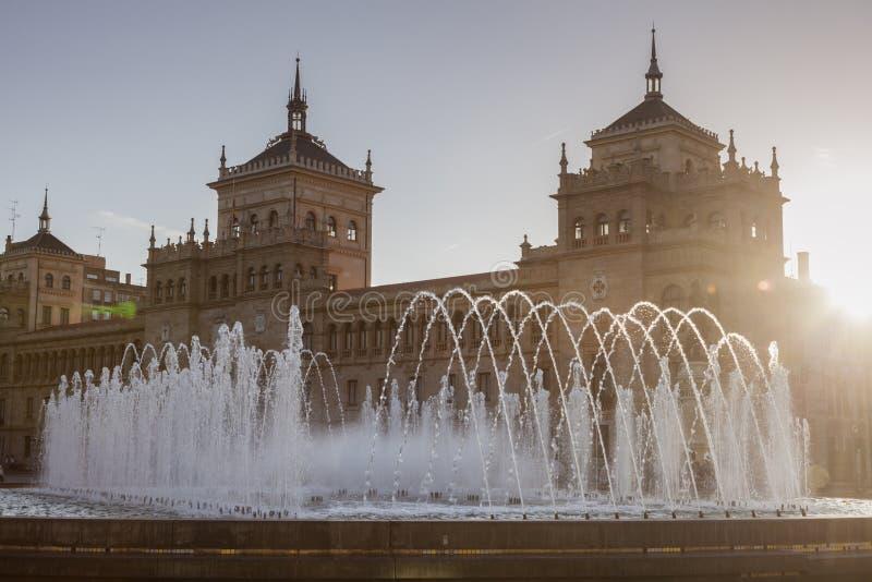 Akademia kawaleria w Valladolid zdjęcia stock