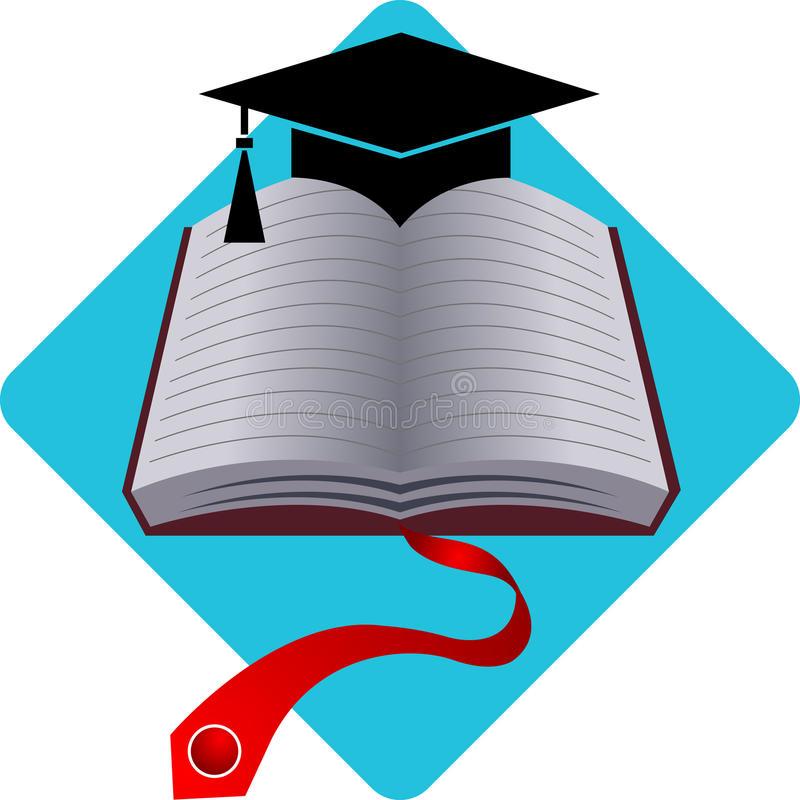 akademicki logo royalty ilustracja