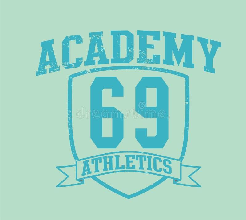 Akademie 69 stock abbildung