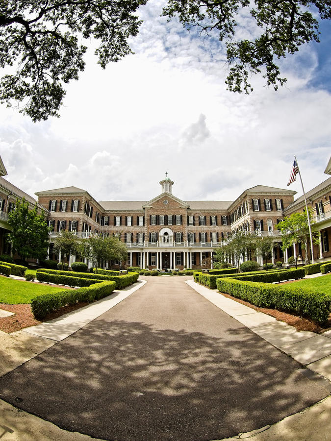 Akademie des heiligen Herzens in New- Orleansla lizenzfreie stockfotos