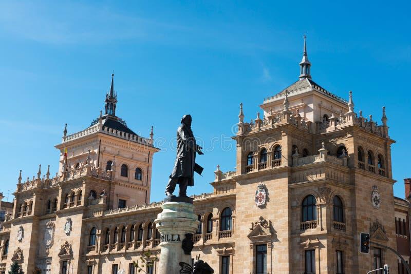 akademii kawaleria Valladolid obraz stock