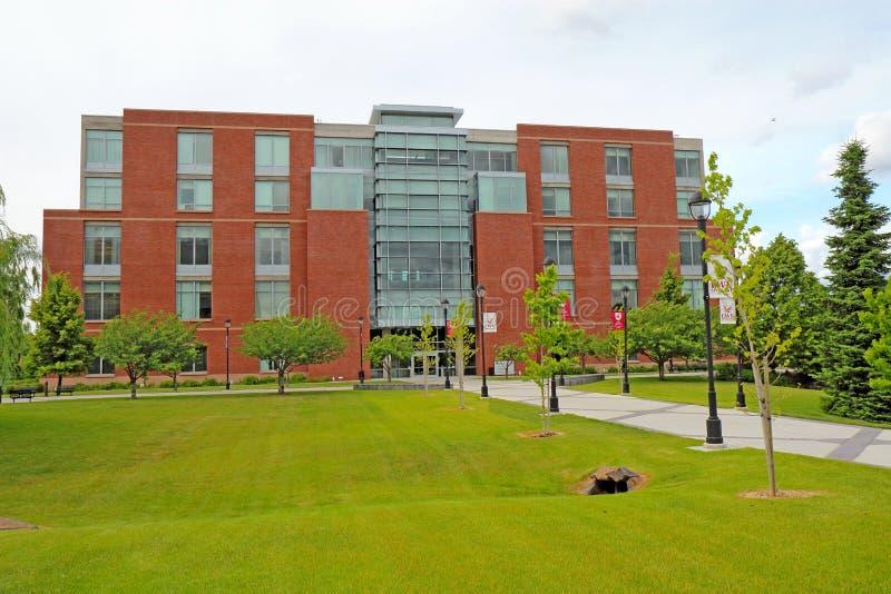 Akademisches Mittelgebäude auf dem Campus von Washington State Unive stockbild