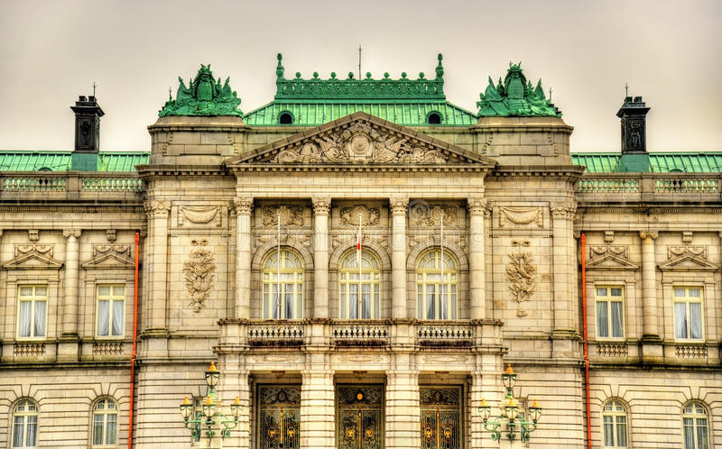 Akasaka Palace or the State Guest House in Tokyo royalty free stock photos