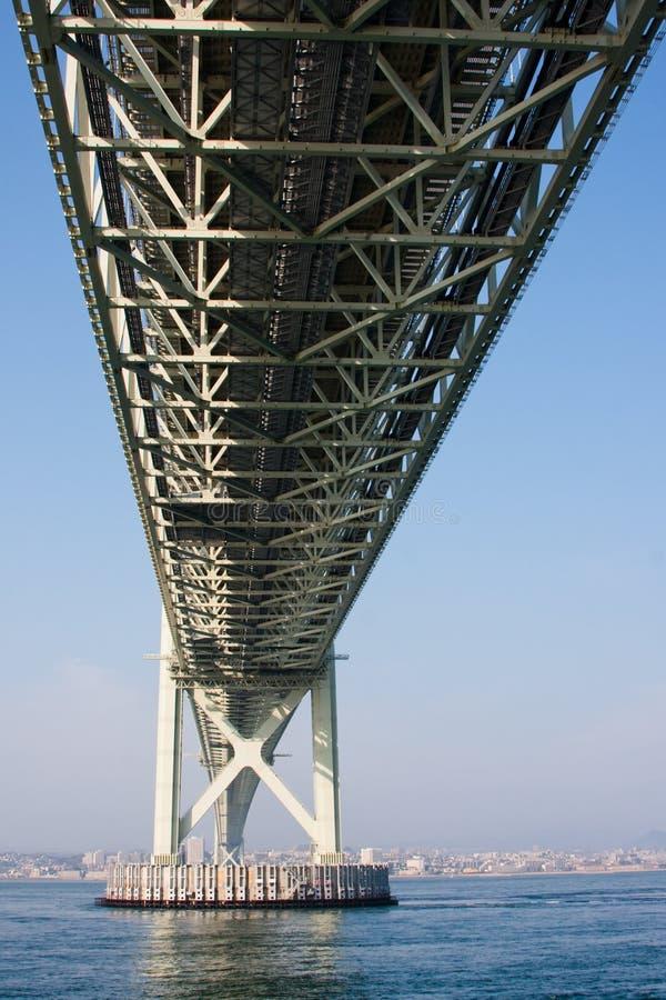 Akashi bridge stock image