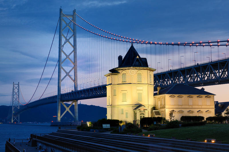 Akashi Bridge royalty free stock image