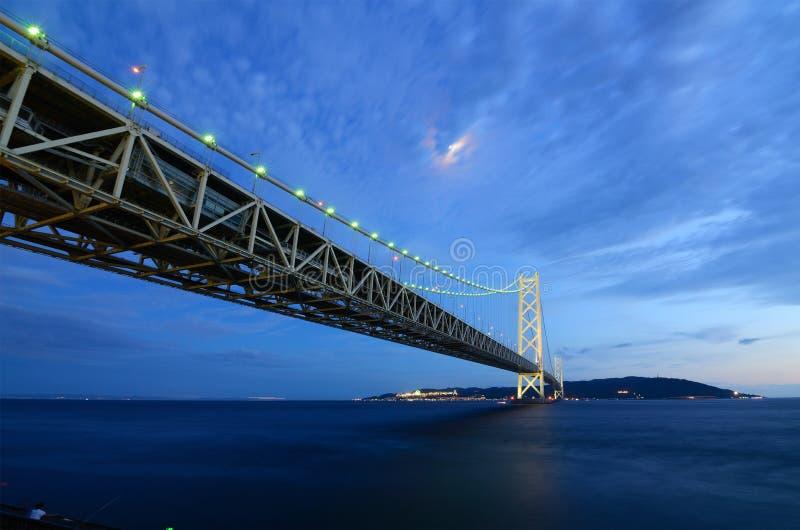 Akashi Bridge royalty free stock images