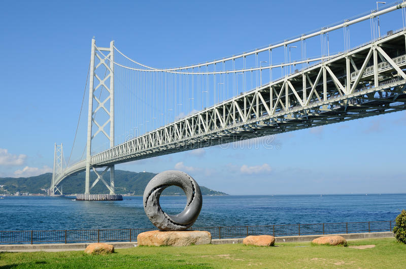 Download Akashi Kaikyo Bridge stock photo. Image of island, kobe - 20526264