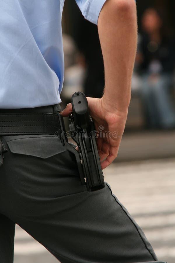 Akce-polizia fotografie stock