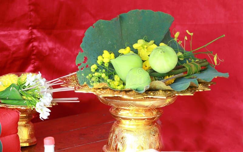 Akcesoria w ceremonii wyświęcać fotografia royalty free