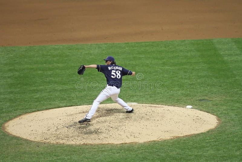 akci baseballa liga major zdjęcie stock