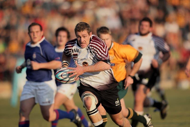 akcja rugby zdjęcie royalty free