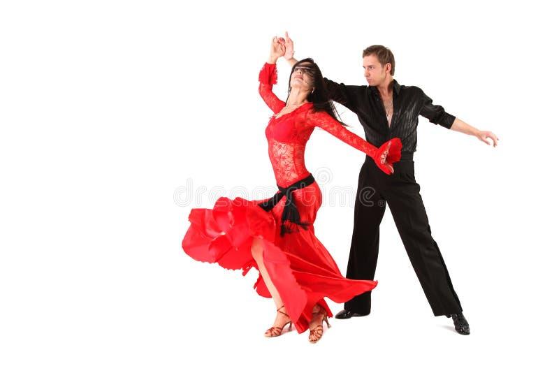 akcja tancerze zdjęcie stock