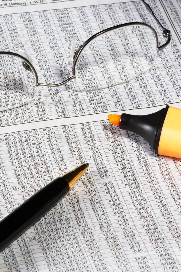 akcje rynku obraz stock