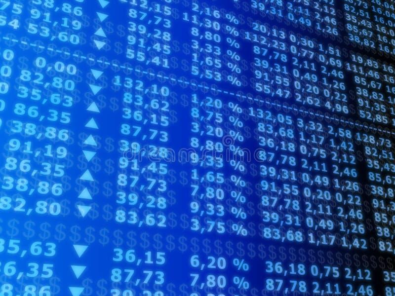 akcje rynku royalty ilustracja