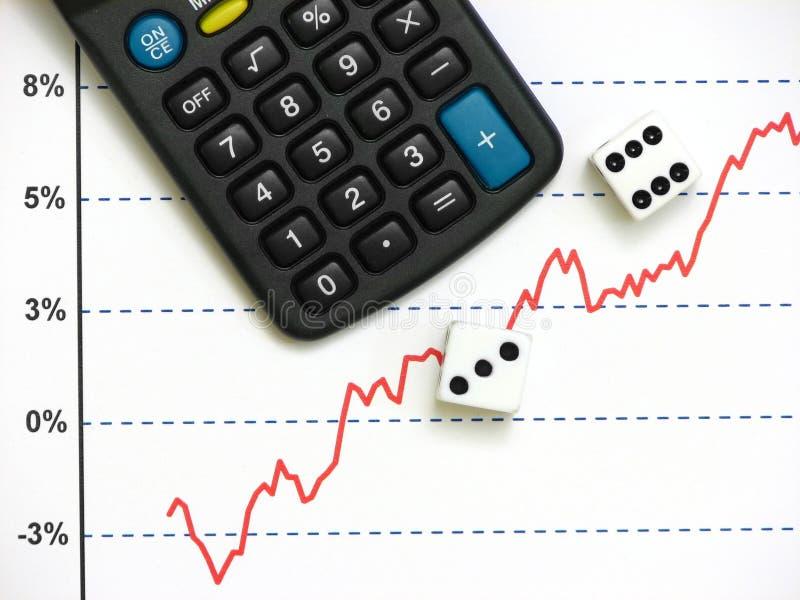 akcje rynku obraz royalty free
