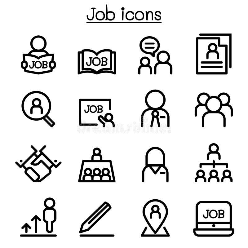 Akcydensowe ikony ustawiać w cienkim kreskowym stylu ilustracja wektor