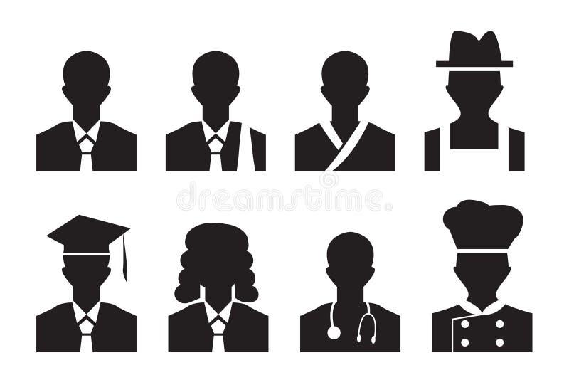 Akcydensowy avatar profilu obrazek biznesowy mężczyzna, prawnik i więcej, ilustracji