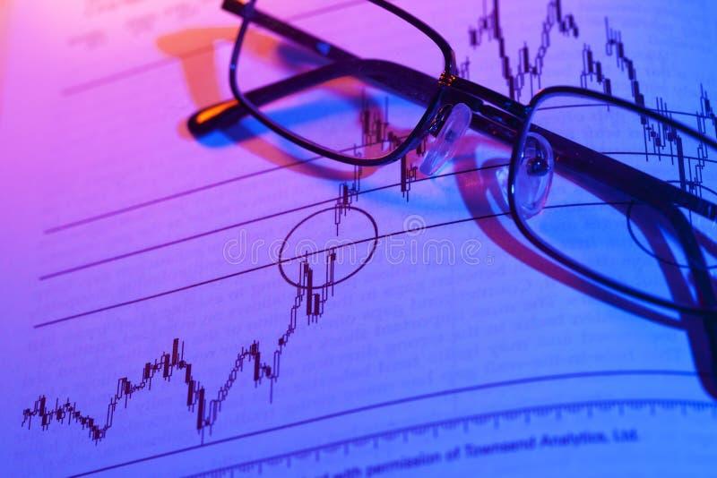 Akcyjny mapa handel zdjęcia stock