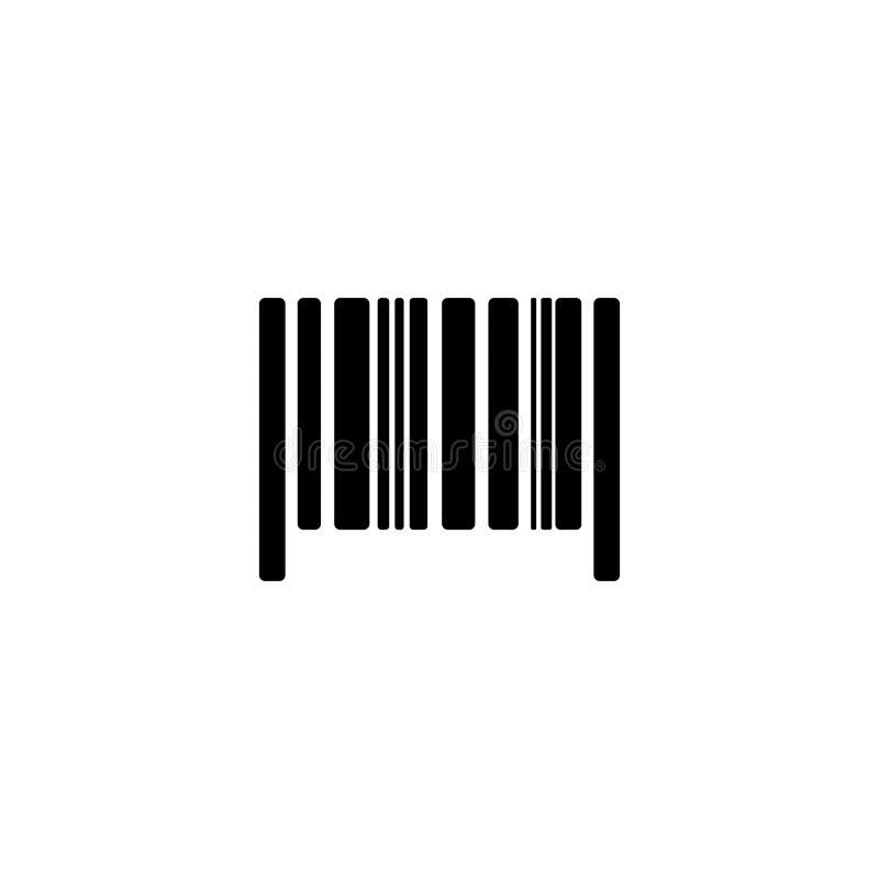 Akcyjny wektorowy barcode 3 royalty ilustracja