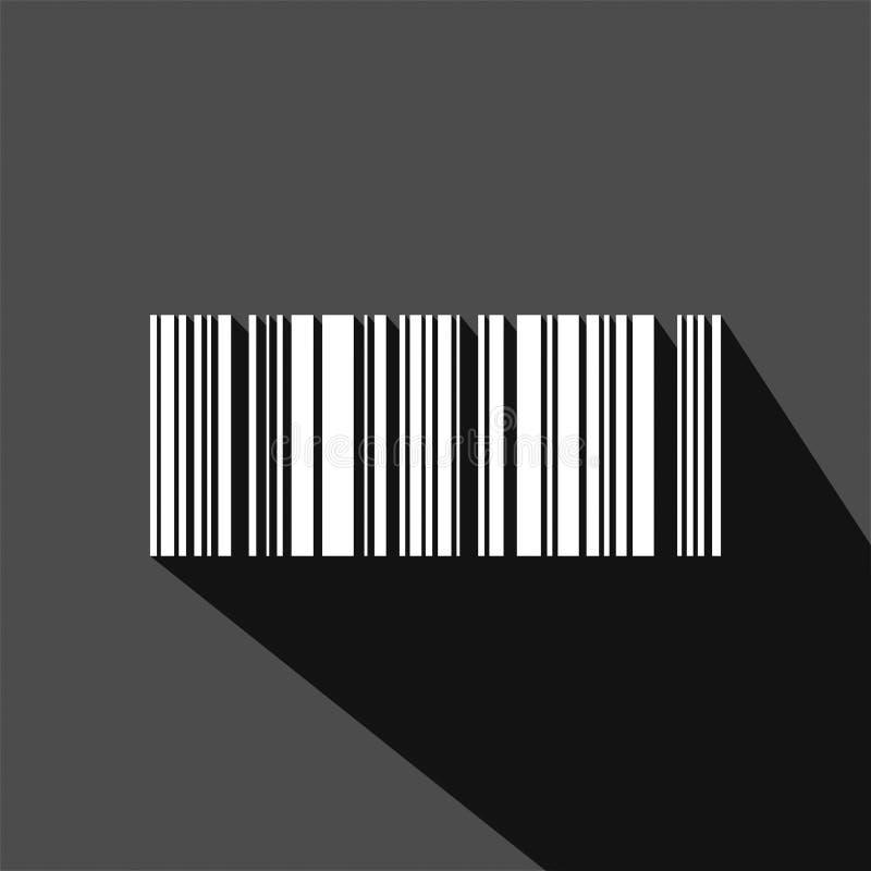 Akcyjny wektorowy barcode 7 ilustracja wektor